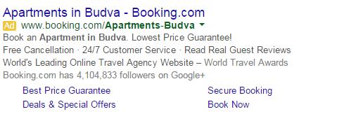 Gugl oglas sa dodacima, adwords oglašavanje