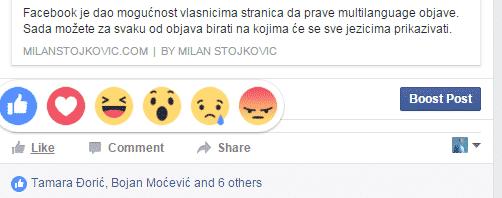 facebook-reakcije