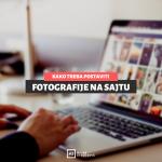 Kako postaviti fotografije na sajt